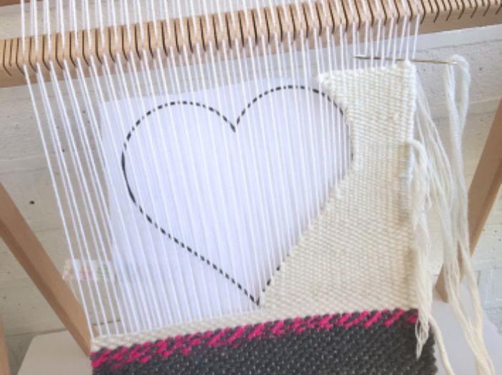 Frame Weaving: A Heart