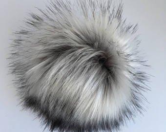 Luxury Faux Fur Pom Pom