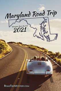 Road Trip Mystery 2021:  Maryland Pattern