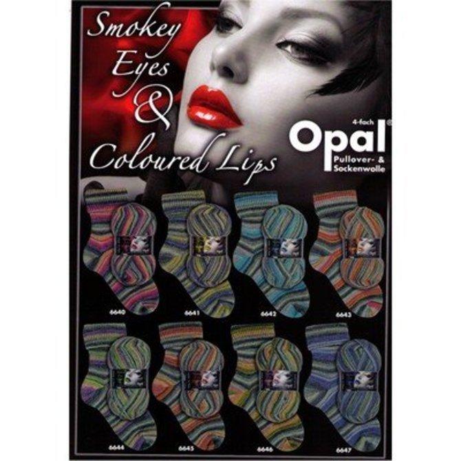 Smokey Eyes & Coloured Lips