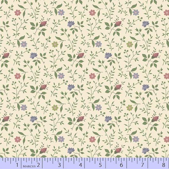 Marcus Fabrics 60 wide Quilt Back Marchives R391005 0142 Cream