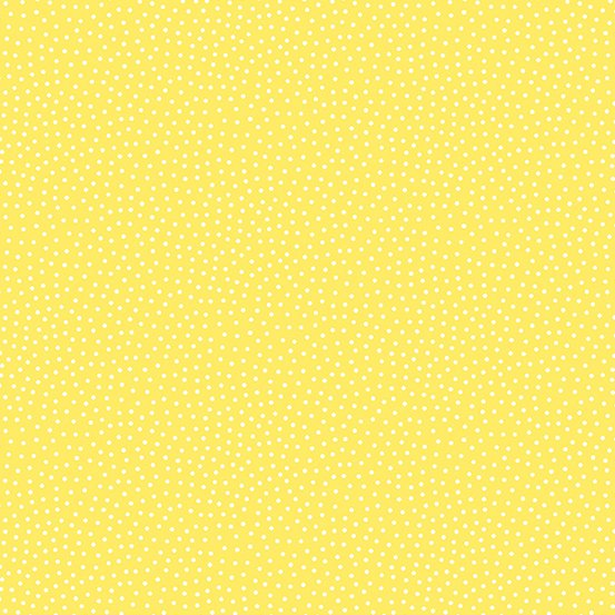 Freckle Dot Sunshine Yellow 9436-Y by Andover
