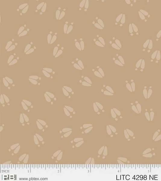 Little Critters Tan Animal Tracks 4298 NE