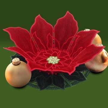OESD Freestanding Poinsettia Bowl CD