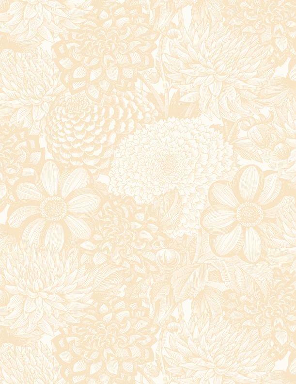 MM20 Essentials Floral Toile Beige