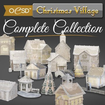 OESD Christmas Village Complete CD