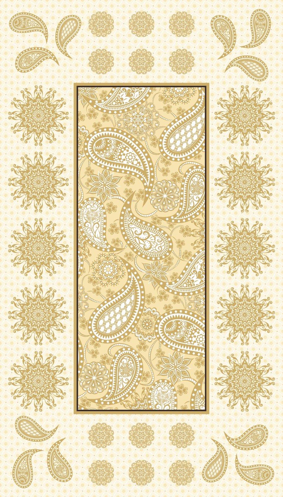 Bernina Jubilee Embroidery Panel Cream