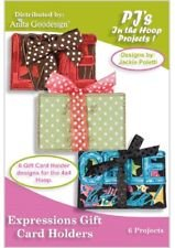 Anita Goodesign-PJ's-Expressions Gift Card Holders