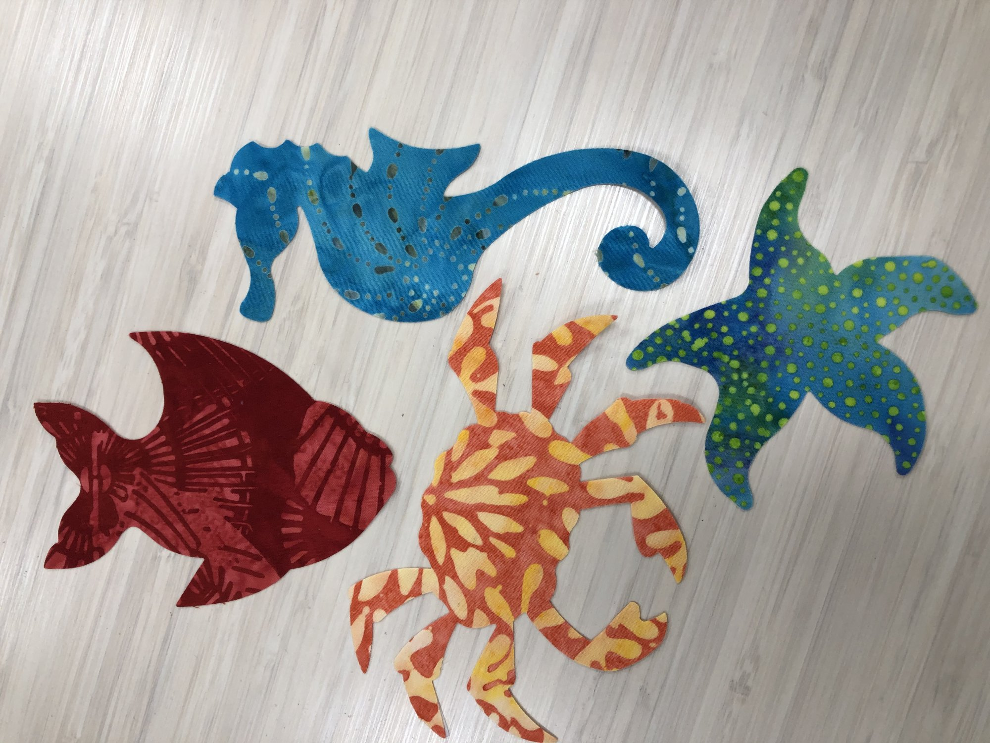Sea Creatures Batik by Accuquilt
