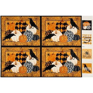 NC18  Raven's Claw Place Mats