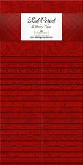 MM18 Essential Red Carpet 40  2 1/2 x44