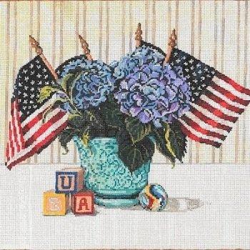 SG181261 USA 18ct by Sandra Gilmore