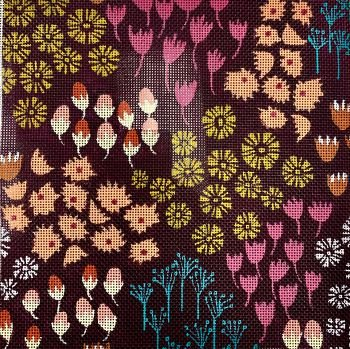 AAS LC1101C MULTI FLOWERS by Lizzie Clark for The Collection