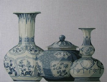 ACOD SB111A A Trio of Vases by The Collection