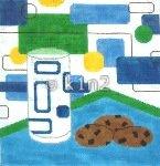 AMBH04MC-Milk and Cookies by Beth Hunt