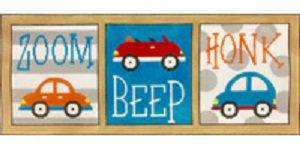 AP3729-ZOOM BEEP HONK CARS by Alice Peterson