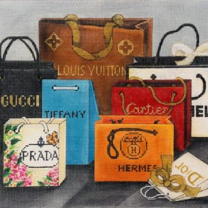 AP2978 DESIGNER SHOPPING BAGS by Alice Peterson
