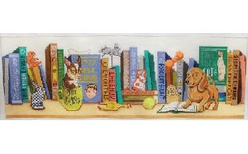 DOG'S LIFE SHELF by Alice Peterson STITCH GUIDE AP2988sg
