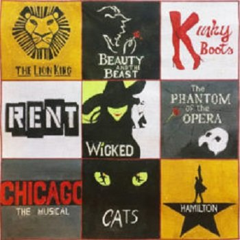 AP2998 PLAYBILL COLLAGE by Alice Peterson