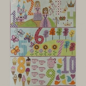 AP3066 GIRL'S PRINCESS NUMBERS by Alice Peterson