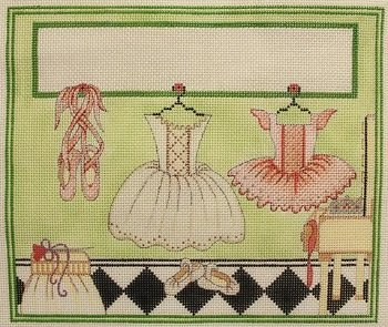 BALLERINA'S ROOM by Alice Peterson Stitch Guide