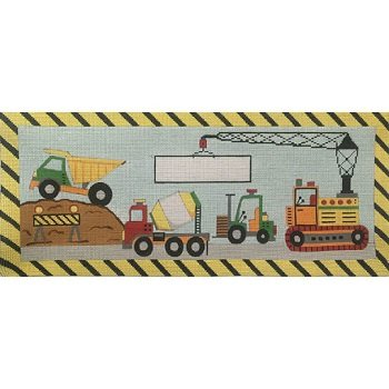 CONSTRUCTION CREW by Alice Peterson STITCH GUIDE AP3632