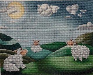 AP3760 SHEEP DREAMS by Alice Peterson