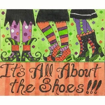 IT'S ALL ABOUT THE SHOES by Alice Peterson STITCH GUIDE AP3762sg