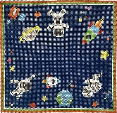 AP3799 SPACE TRAVEL BIRTH ANNOUNCEMENT by Alice Peterson