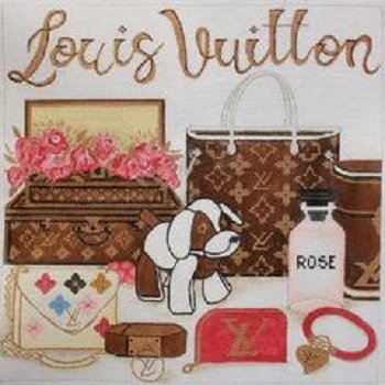 AP4006 LOUIS VUITTON COLLAGE by Alice Peterson