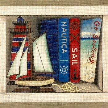 AP4013 SAILING BOOK NOOK by Alice Peterson