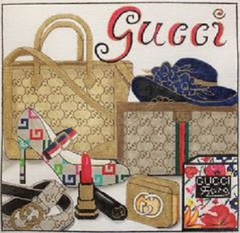 GUCCI STYLE COLLAGE by Alice Peterson STITCH GUIDE AP4014sg