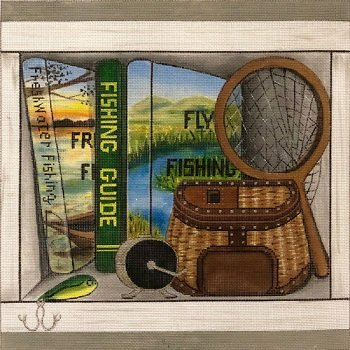 AP4015 FISHING BOOK NOOK by Alice Peterson