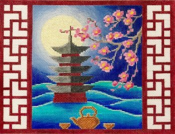 PAGODA MAH JONGG by Alice Peterson STITCH GUIDE AP4022sg - copy