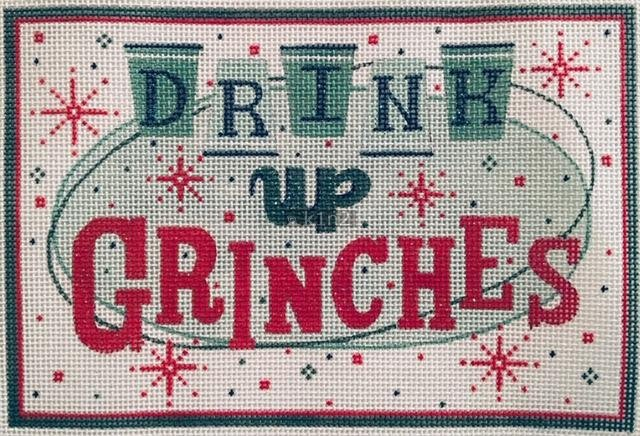 AP4024 DRINK UP GRINCHES by Alice Peterson