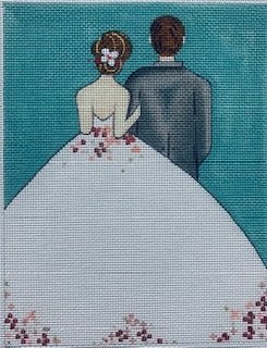 AP4046 BRIDE AND GROOM by Alice Peterson