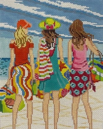 AP4150 THREE GIRLS IN SUMMER by Alice Peterson