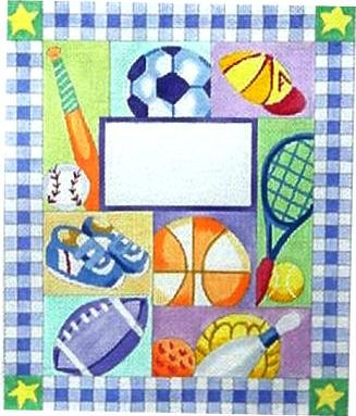 BOYS SPORTS BIRTH ANNOUNCEMENT by Alice Peterson  STITCH GUIDE  AP3358sg