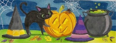 AP4153  HALLOWEEN TABLE TOP by Alice Peterson