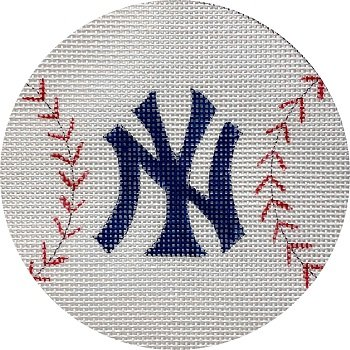 APX444 NY YANKEES BASEBALL by Alice Peterson