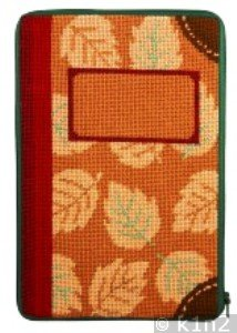 APSZ810 Fall Leaves e-Book Kindle Nook Case Kit by Alice Peterson