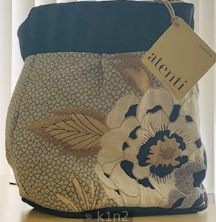 Large Flower Tall Caddy Tote Bag by Atenti