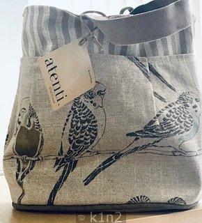 Birds Tall Caddy Tote Bag by Atenti Atenti B16SD