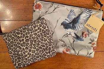Grand Pouch Blue Bird by Atenti