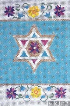 STAR with FLOWER BOOK COVER  by Aviva STITCH GUIDE AV7079d