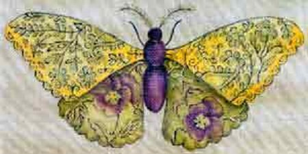 FANCIFUL BUTTERFLY by Barbara Elmore Stitch Guide SUBDFF01sg