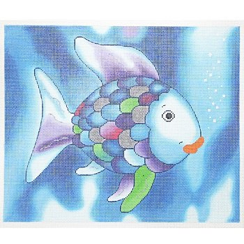 LEE BF81 RAINBOW FISH by Lee's Needlearts