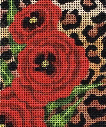 Spotted Poppies STITCH GUIDE LEEBG114sg