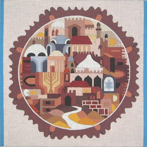 GATES OF JERUSALEM TALLIS BAG by Bracha Lavee-BL36TB