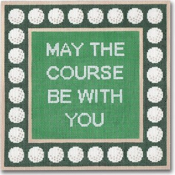 MAY THE COURSE BE WITH YOU by CBK STITCH GUIDE-CBKEGSS55